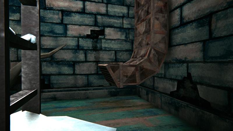 Контейнер, за решеткой вентиляции бункера, в игре The long dark