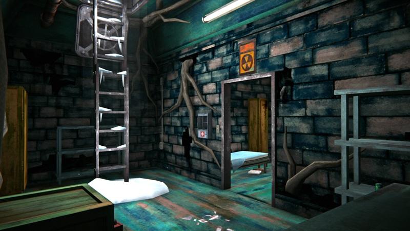 Медицинский бункер в игре The long dark (общий вид)
