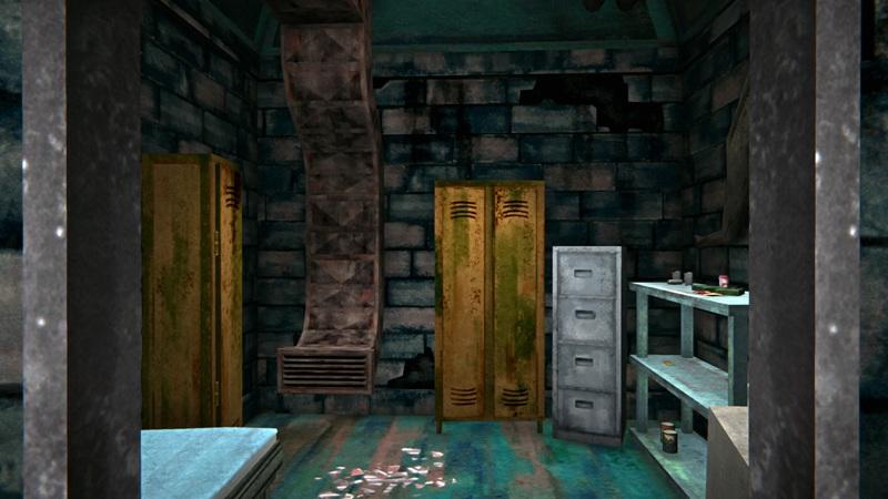 Медицинский бункер в игре The long dark (маленькая комната)