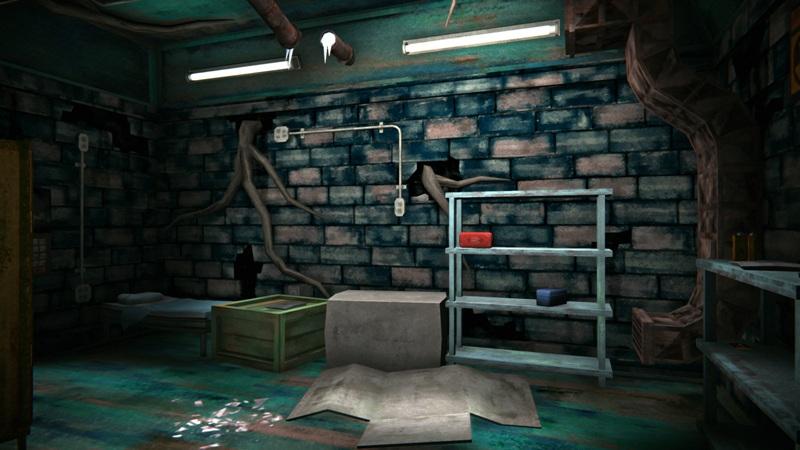 Инструментальный бункер в игре The long dark (дальняя часть)