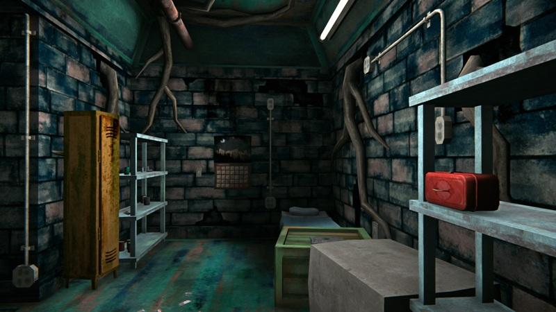 Бункер с инструментами в игре The long dark (дальняя часть)
