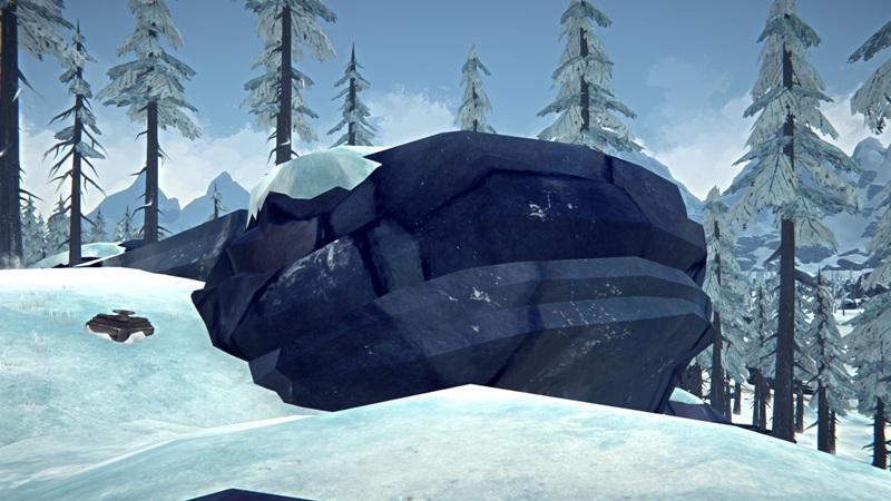 Расположение инструментального бункера на Отрадной долине в игре The long dark