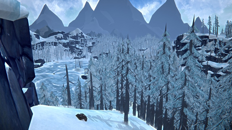 Расположение инструментального бункера на Загадочном озере в игре The long dark