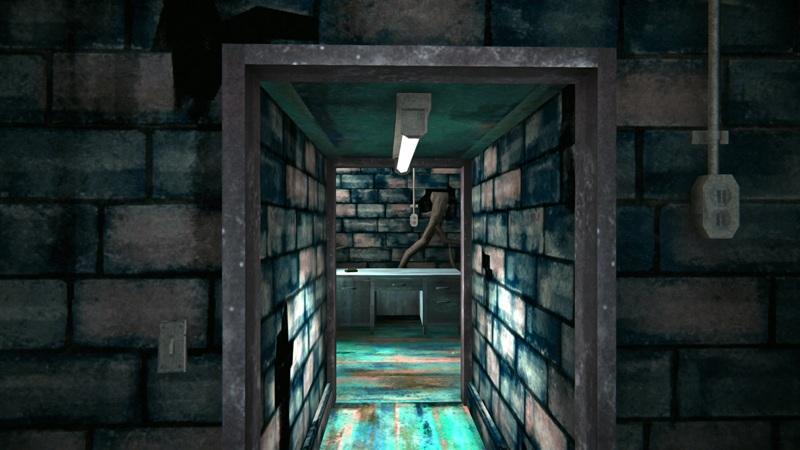 Текстильный бункер в игре The long dark (вид от входа)