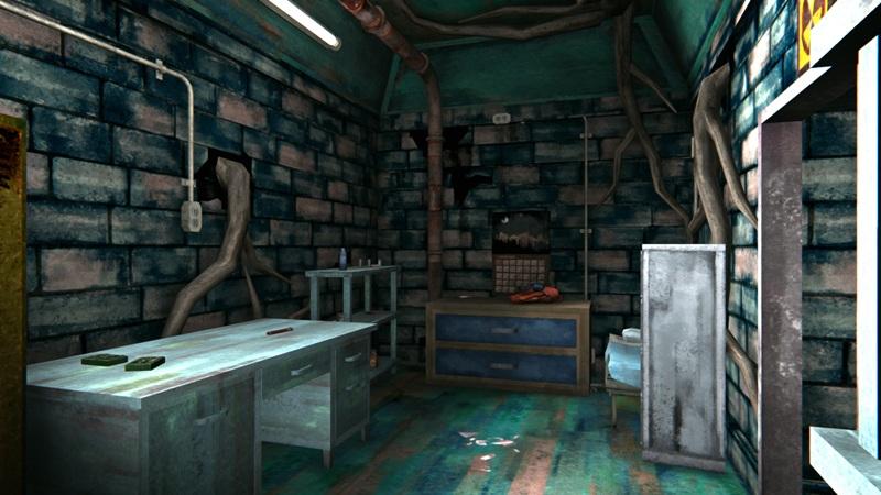 Текстильный бункер в игре The long dark (основное помещение)