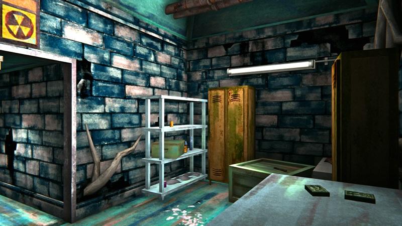 Бункер с одеждой в игре The long dark (основное помещение)