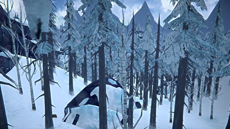 Расположение текстильного бункера на Загадочном озере в игре The long dark