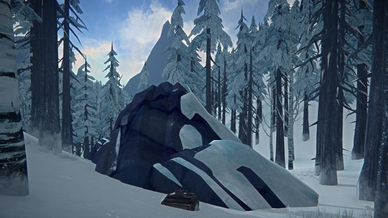 Расположение бункера с одеждой на Загадочном озере в игре The long dark