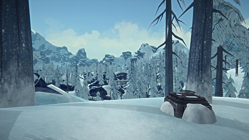 Расположение продуктового бункера №8 на Отрадной долине в игре The long dark