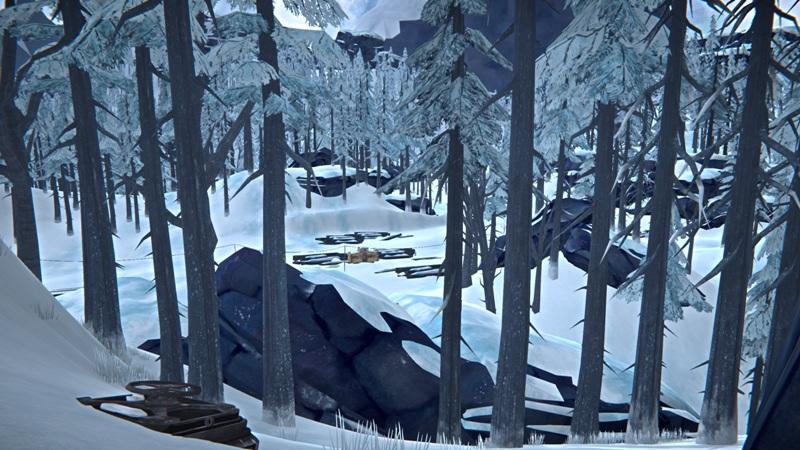Расположение продуктового бункера №8 на Загадочном озере в игре The long dark