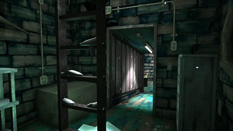 Топливный бункер в игре The long dark (вид от входа)