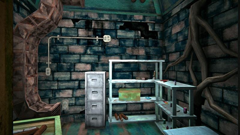Топливный бункер в игре The long dark (основное помещение)