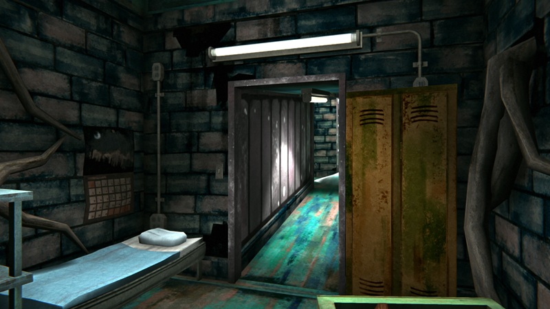 Бункер с дровами в игре The long dark (основное помещение)