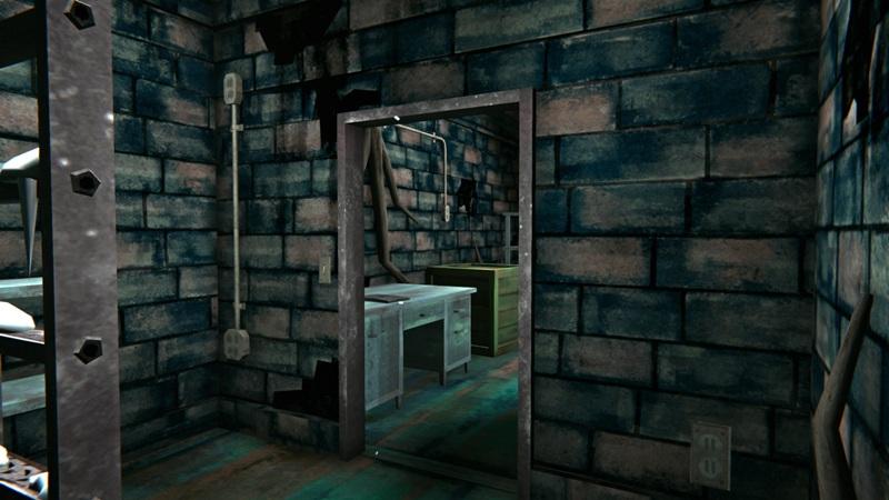 Оружейный бункер в игре The long dark (вид от входа)