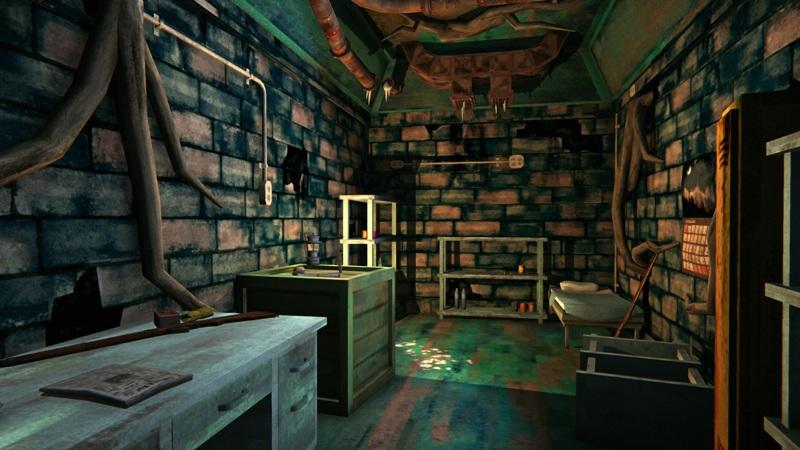 Оружейный бункер в игре The long dark (основное помещение)