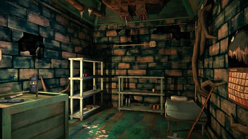 Оружейный бункер в игре The long dark (дальняя часть)
