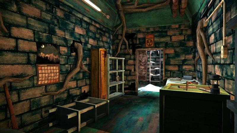 Бункер с оружием в игре The long dark (основное помещение)