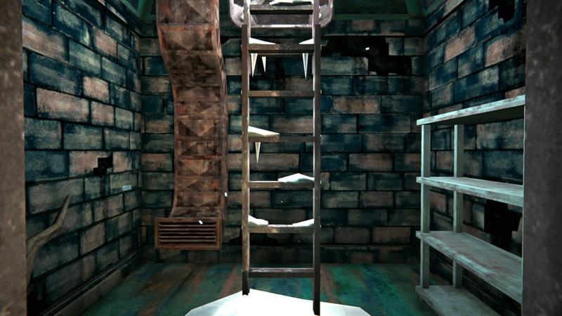 Бункер с оружием в игре The long dark (маленькая комната)