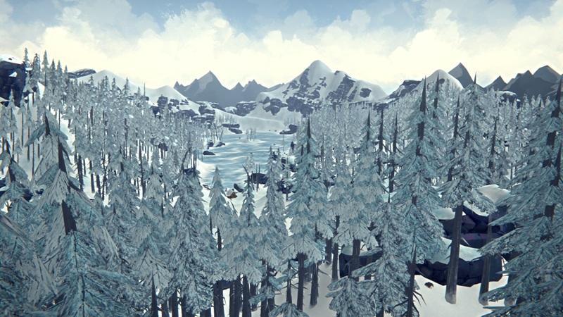 Расположение бункера с оружием на Загадочном озере в игре The long dark