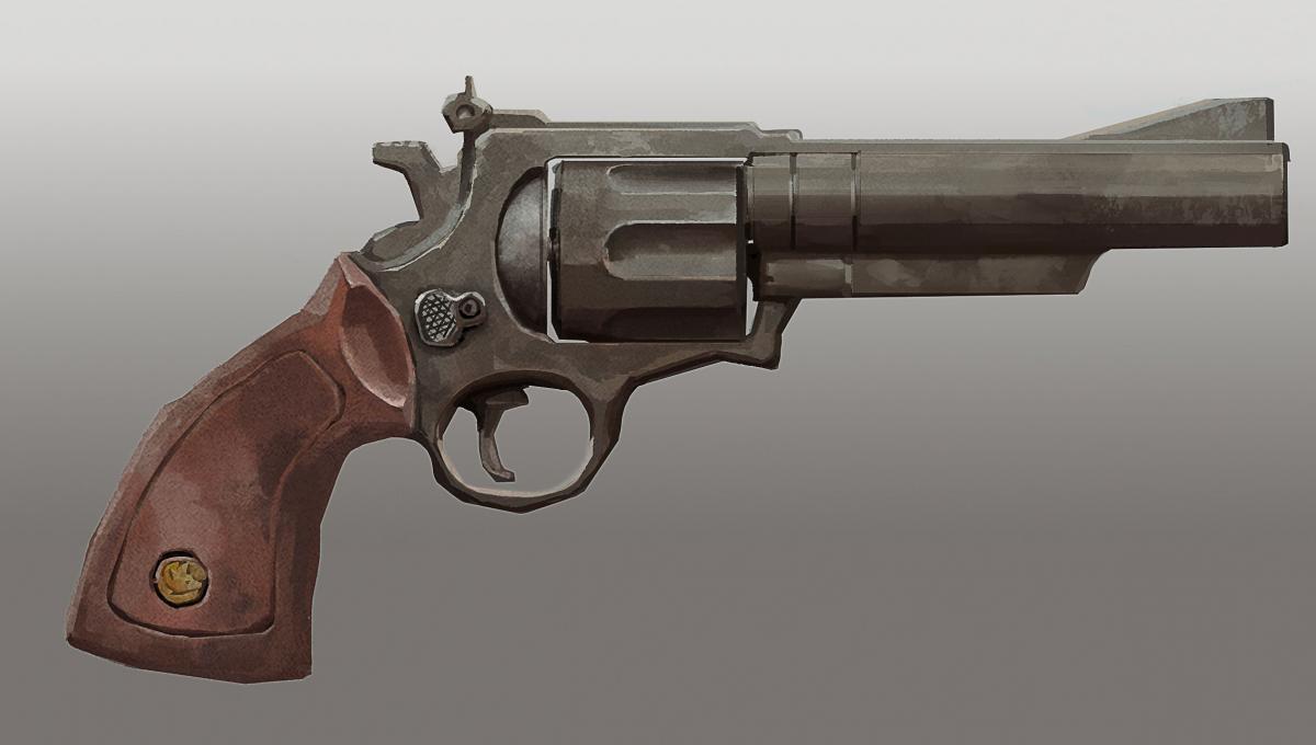 The long dark как выглядит револьвер