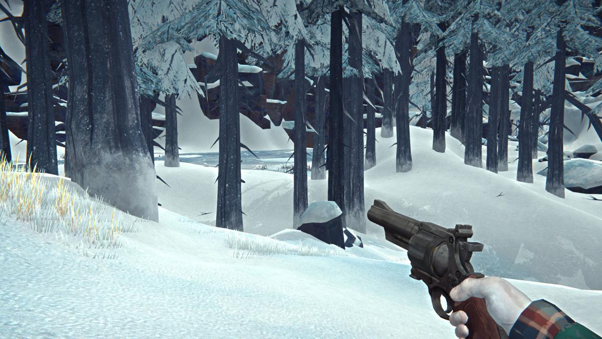 The long dark стрельба из револьвера