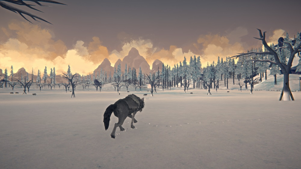 Лесной волк в игре The long dark