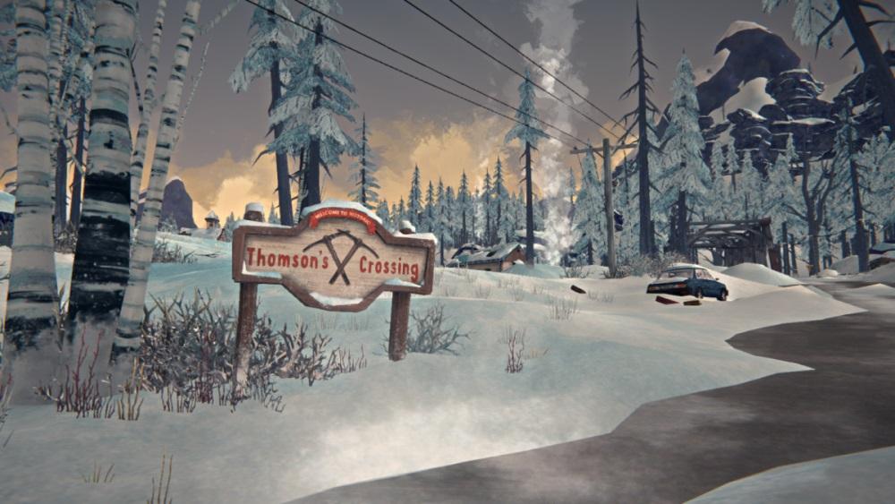 Шахтерский городок Thomson's Crossing в игре The long dark