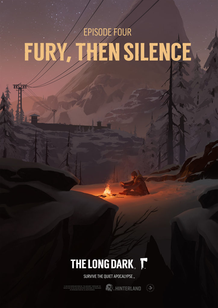 Постер для четвертого эпизода истории игры The long dark
