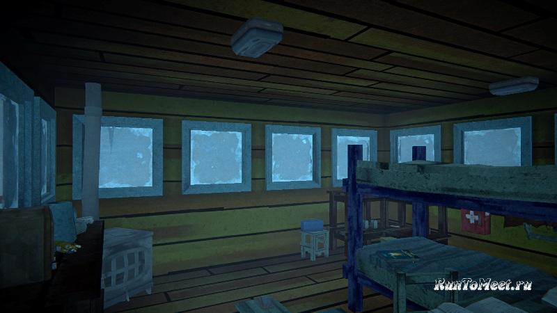 Домик Лесника на Загадочном озере в игре The long dark