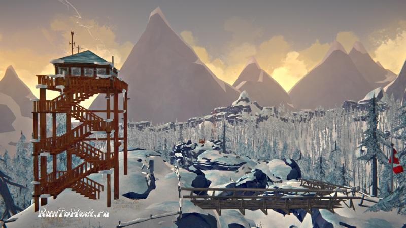 Дом Лесника на Загадочном озере в игре The long dark