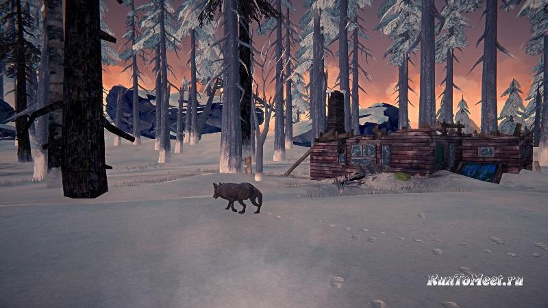 Гребень Скитера на локации Отрадная долина в The long dark