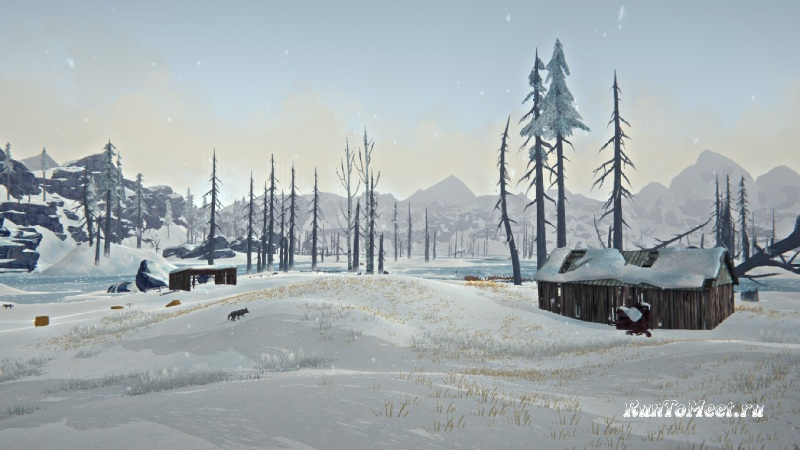 Ферма Спенса на локации Одинокая топь в The long dark