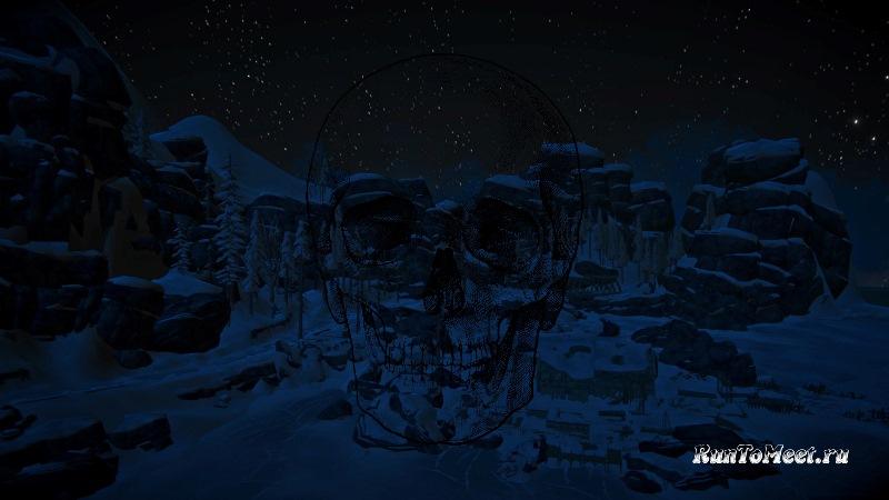 Высокий уровень сложности на локации Зона запустения в игре The long dark