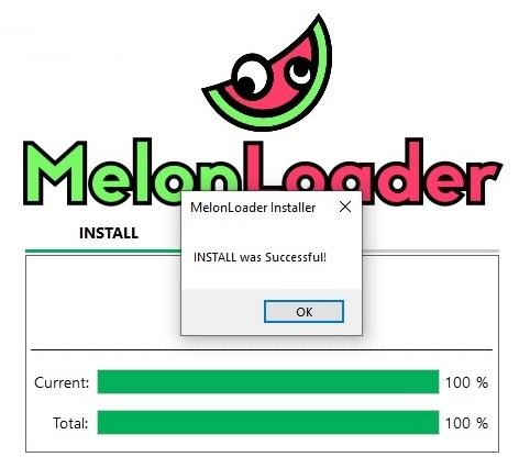 Установка программы MelonLoader, для The long dark, прошла успешно