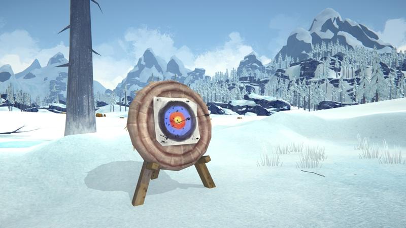 Мод Archery Target Practice на The long dark позволяет прокачивать навык владения луком