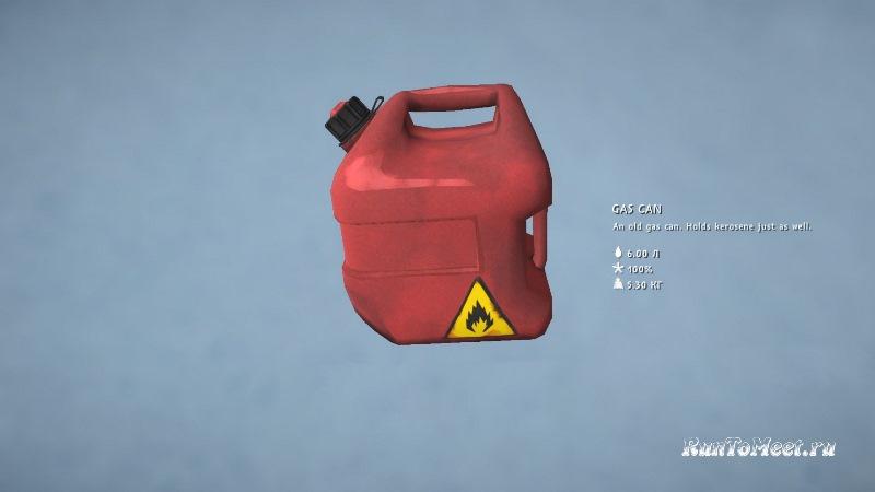 Мод Better Fuel Management на игру The long dark позволяет лучше распределять топливо