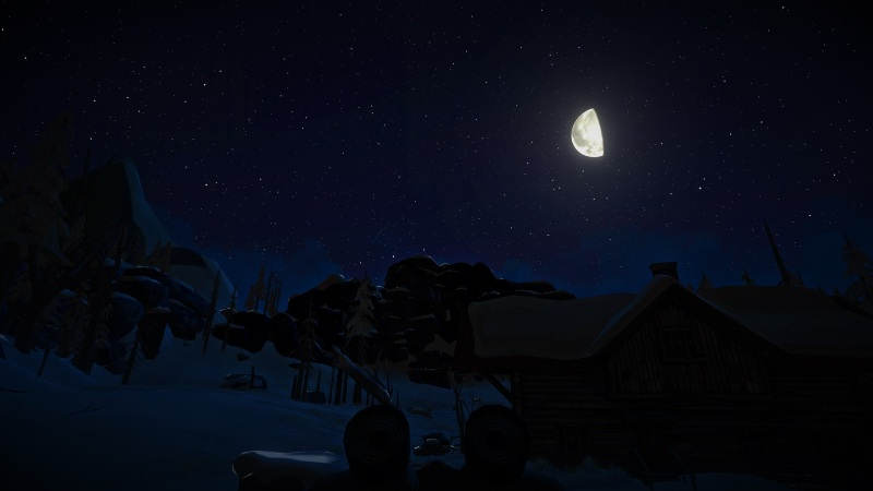 Мод Better Night Sky на игру The long dark улучшенное ночное небо