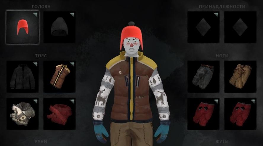 Красная шапочка из мода Clothing Pack в игре The long dark