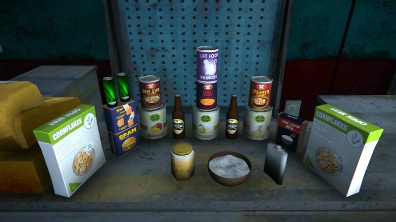 Мод Food Pack добавляет новые продукты питания в игру The long dark