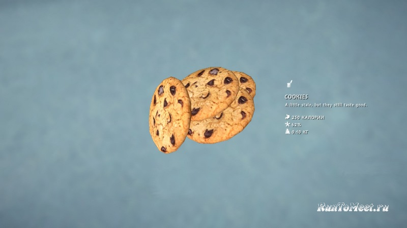 Печенье из мода Food-Pack на игру The long dark