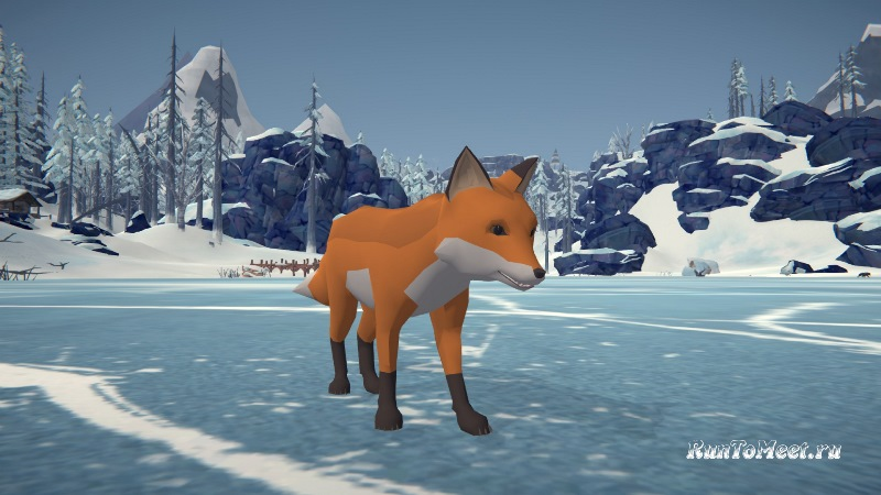 Мод Fox Companion добавляет лису как компаньона в игру The long dark