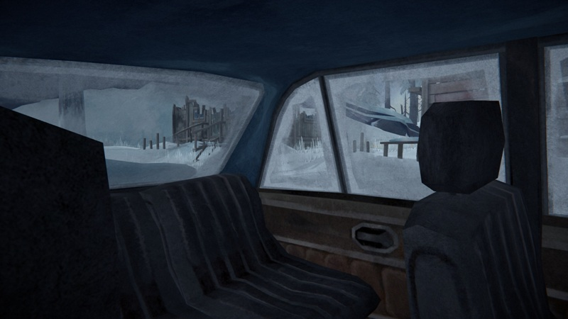 В игре The long dark мод дает свободный обзор в машине