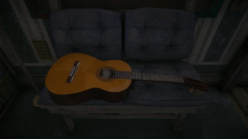 Мод Instrument-Pack на The long dark добавляет музыкальные инструменты