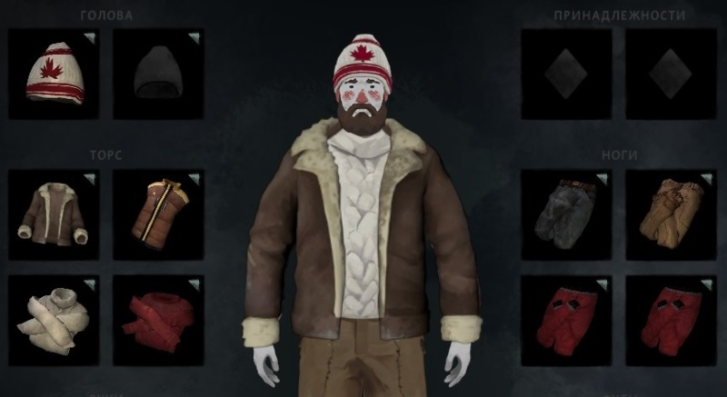 Тюремная куртка из мода Prison Pack в игре The long dark