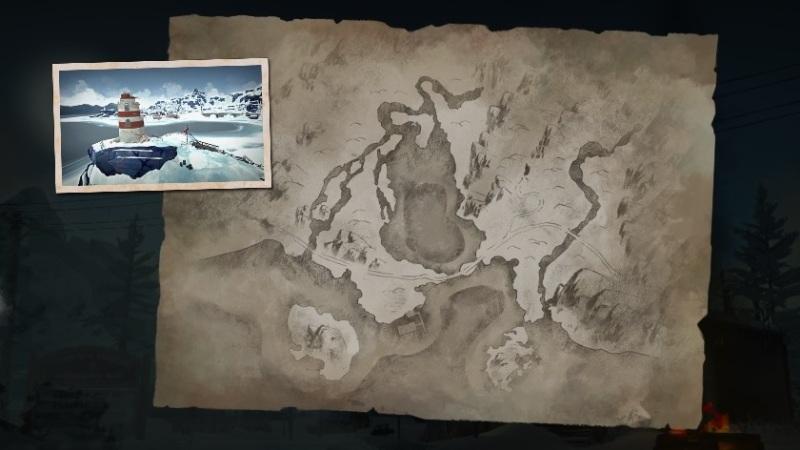 Локация Бледная бухта в обновлении 1.64 игры The long dark