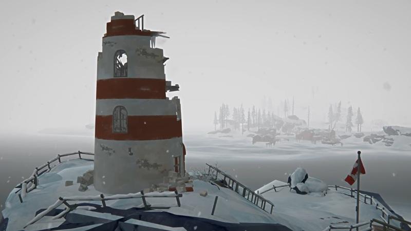 Упавший маяк, на локации Бледная бухта, в обновлении 1.64 игры The long dark