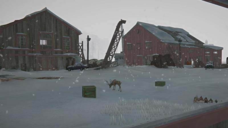 Территория завода, на локации Бледная бухта, в обновлении 1.64 игры The long dark