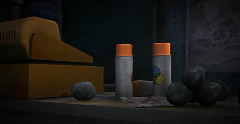 Баллончики с краской в игре The long dark (Fearless Navigator)
