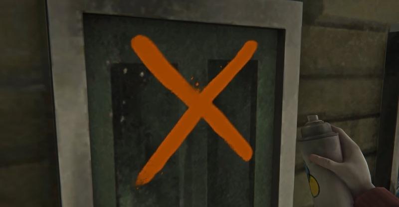 Помечаем маркером дверь в игре The long dark (Fearless Navigator)