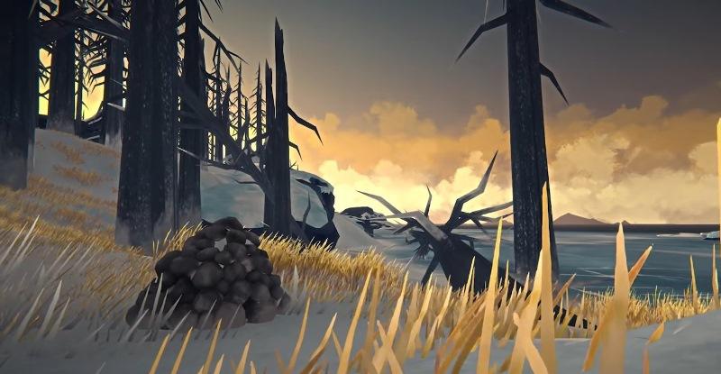 Тайник в камнях в игре The long dark (Fearless Navigator)